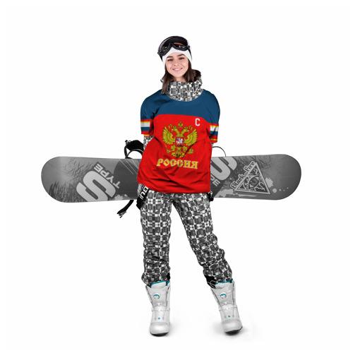 Накидка на куртку 3D  Фото 05, Овечкин Сборная России по хоккею