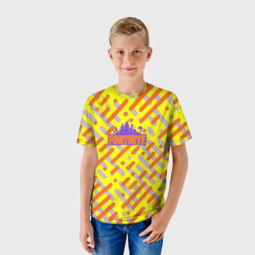 Детская футболка 3D  Фото 01, Fortnite