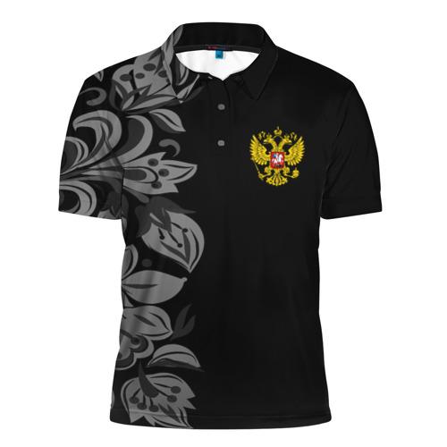 Мужская рубашка поло 3D  Фото 01, Russia Pattern Collection
