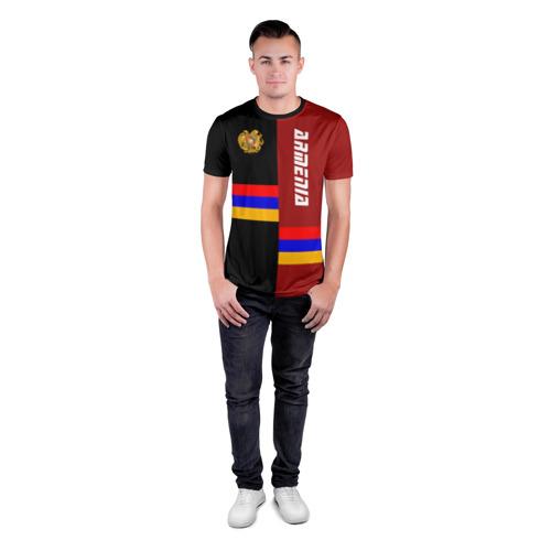 Мужская футболка 3D спортивная  Фото 04, ARMENIA (Армения)