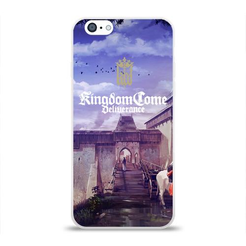 Чехол для Apple iPhone 6 силиконовый глянцевый  Фото 01, Kingdom Come Deliverance