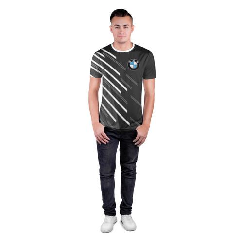Мужская футболка 3D спортивная  Фото 04, BMW SPORT