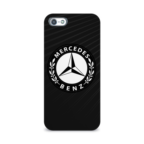Чехол для Apple iPhone 5/5S 3D  Фото 01, Mercedes SPORT