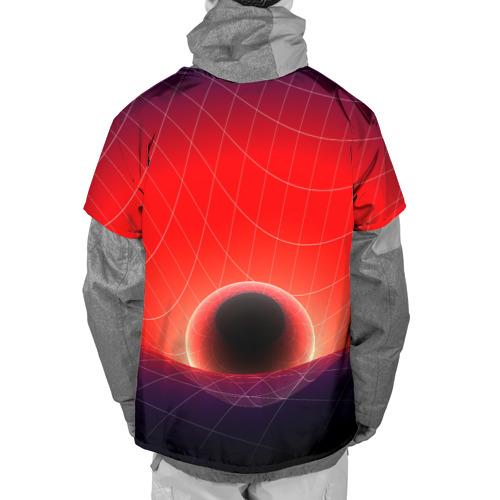 Накидка на куртку 3D  Фото 02, Космическая планета