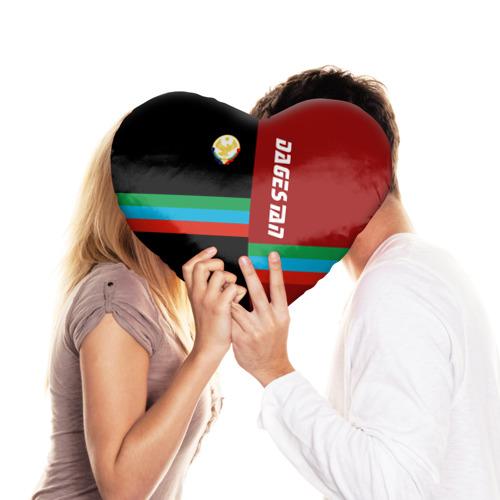 Подушка 3D сердце  Фото 03, Dagestan
