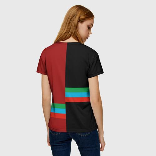 Женская футболка 3D Dagestan Фото 01