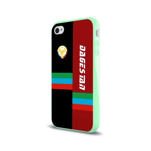 Чехол для Apple iPhone 4/4S силиконовый глянцевый Dagestan Фото 01