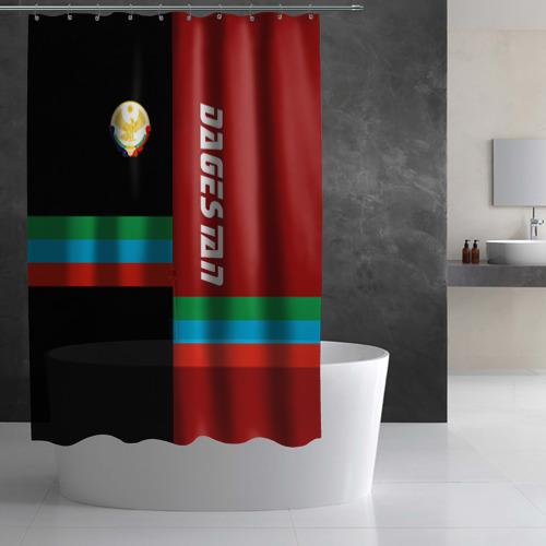 Штора 3D для ванной Dagestan Фото 01