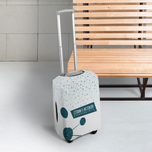 Чехол для чемодана 3D  Фото 03, Криптофеодал