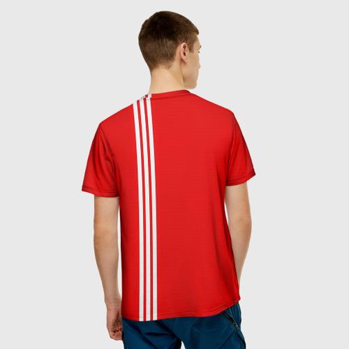 Мужская футболка 3D  Фото 02, Форма сборной СССР-2