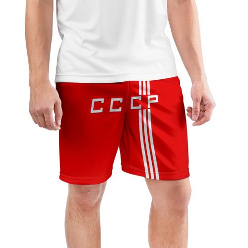 Мужские шорты 3D спортивные  Фото 03, Форма сборной СССР-2