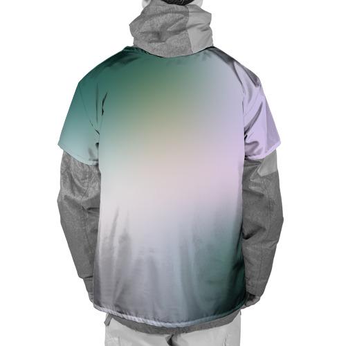 Накидка на куртку 3D  Фото 02, Цветок