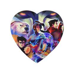 Пазл магнитный сердце 75 элементовАватар
