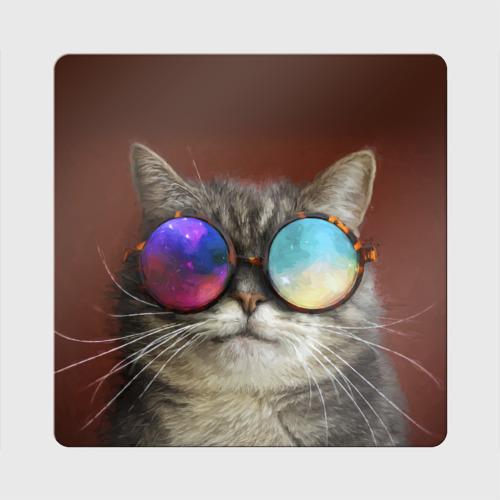 Магнит виниловый Квадрат  Фото 01, котейки