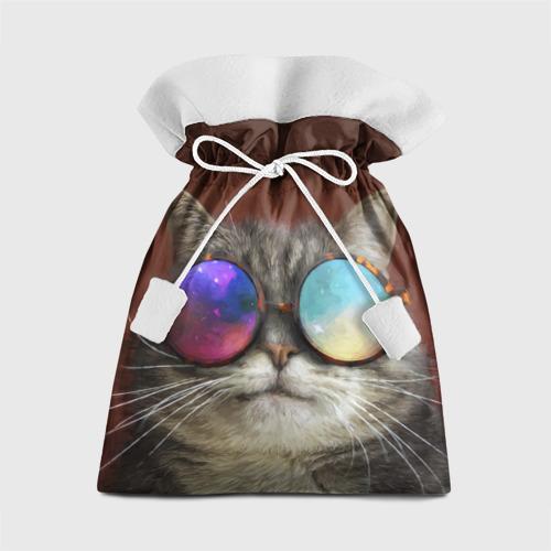 Подарочный 3D мешок котейки