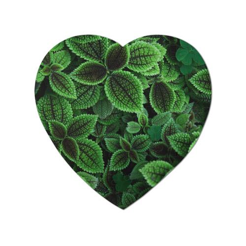 Пазл магнитный сердце 75 элементов Зелень