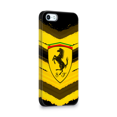 Чехол для Apple iPhone 5/5S 3D  Фото 02, Ferrari sport abstract 2018