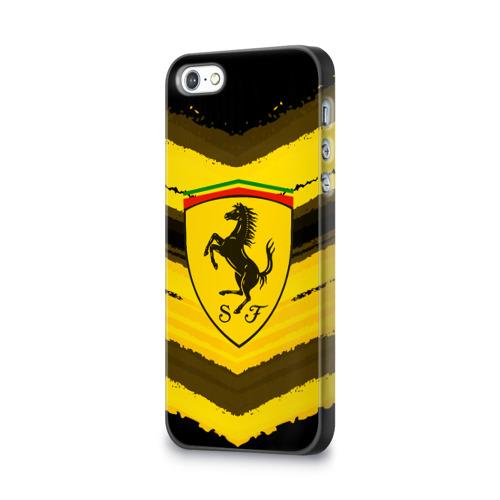 Чехол для Apple iPhone 5/5S 3D  Фото 03, Ferrari sport abstract 2018