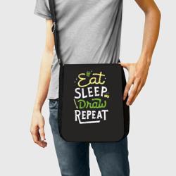 Eat, sleep, draw, repeat