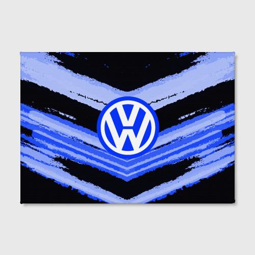 Холст прямоугольный  Фото 02, Volkswagen sport abstract 2018