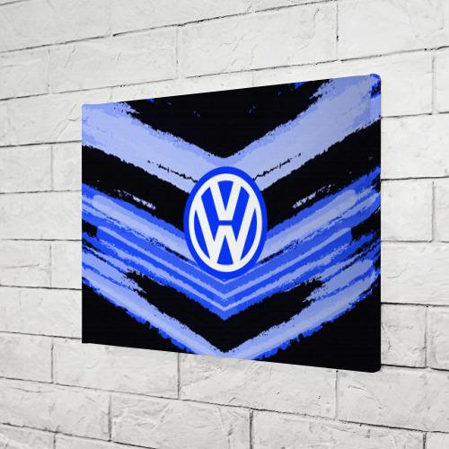 Холст прямоугольный  Фото 03, Volkswagen sport abstract 2018