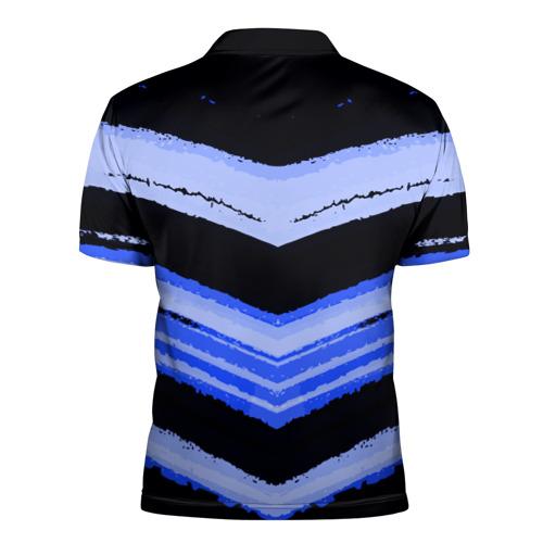Мужская рубашка поло 3D  Фото 02, Volkswagen sport abstract 2018