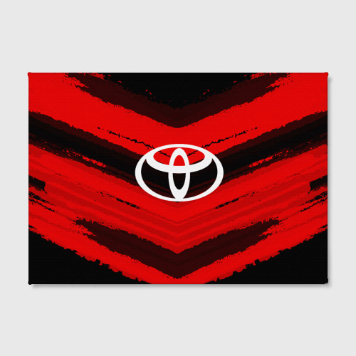 Холст прямоугольный  Фото 02, Toyota sport abstract 2018