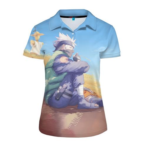 Женская рубашка поло 3D Наруто