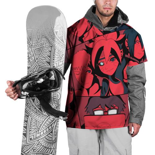 Накидка на куртку 3D  Фото 01, Red Naruto