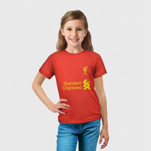 Детская футболка 3D  Фото 03, Форма Мохамед Салах