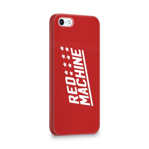 Чехол для Apple iPhone 5/5S 3D  Фото 02, Red Machine III