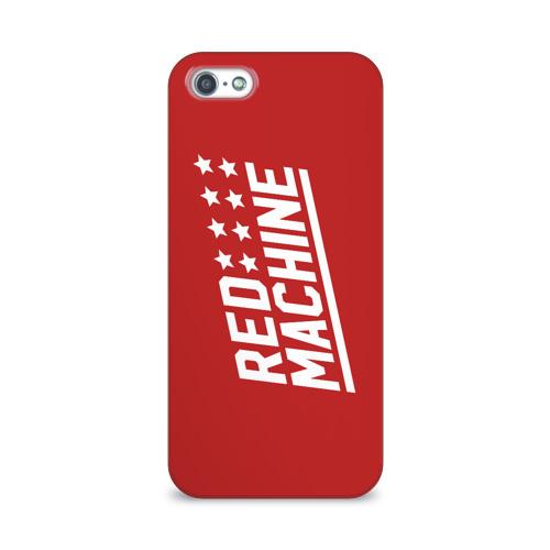 Чехол для Apple iPhone 5/5S 3D  Фото 01, Red Machine III