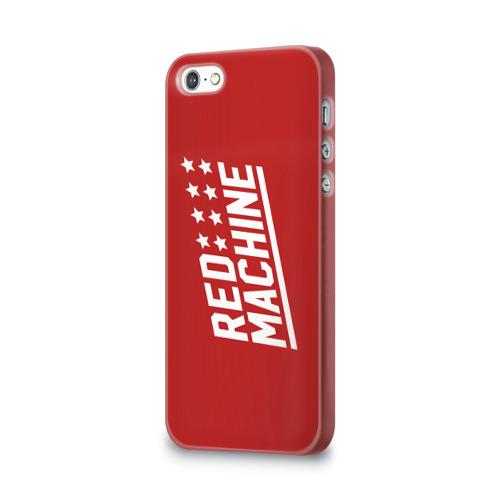Чехол для Apple iPhone 5/5S 3D  Фото 03, Red Machine III