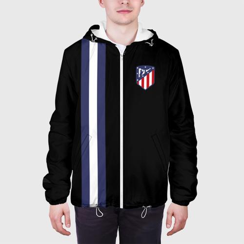 Мужская куртка 3D  Фото 04, Атлетико Мадрид