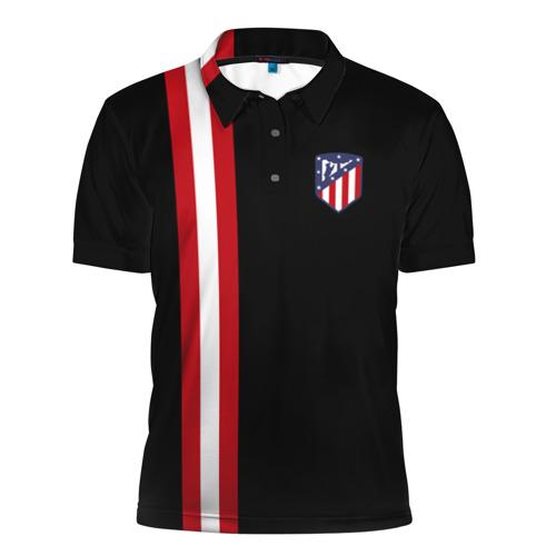 Мужская рубашка поло 3D Atletico Madrid Line Edition