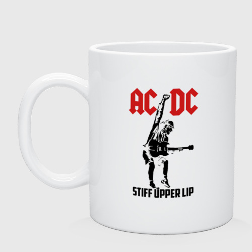 Кружка AC/DC stiff upper lip