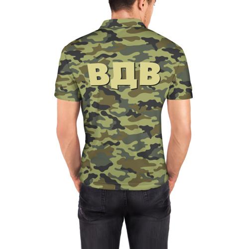 Мужская рубашка поло 3D  Фото 04, ВДВ. Никто кроме нас