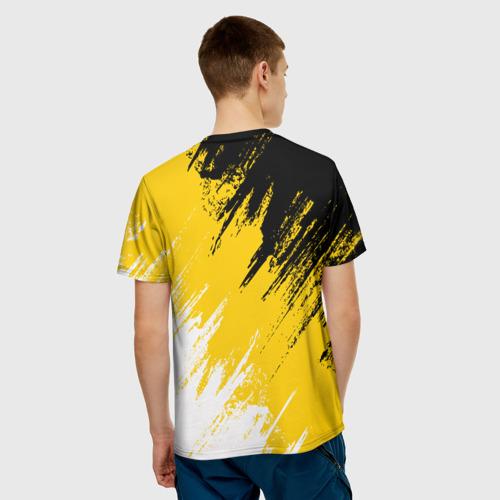 Мужская футболка 3D Имперский флаг и медведь Фото 01