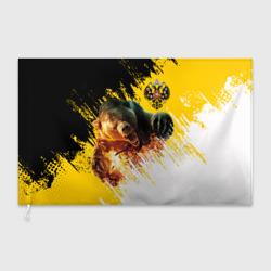 Имперский флаг и медведь