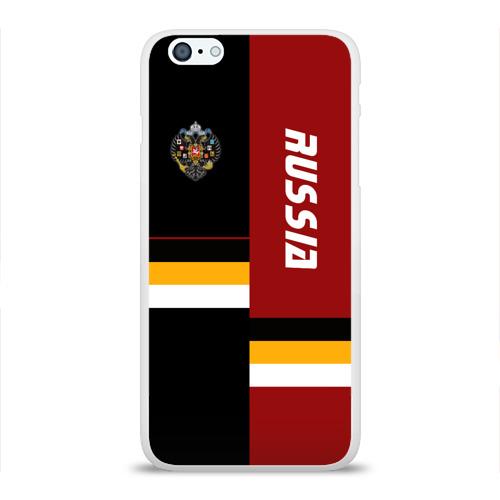 Чехол для Apple iPhone 6Plus/6SPlus силиконовый глянцевый  Фото 01, Russia (империя)
