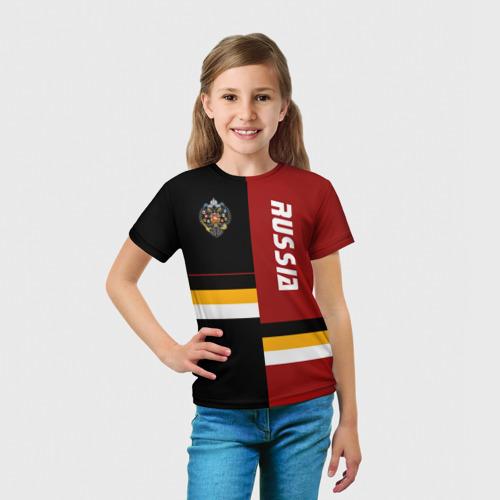 Детская футболка 3D Russia (империя) Фото 01