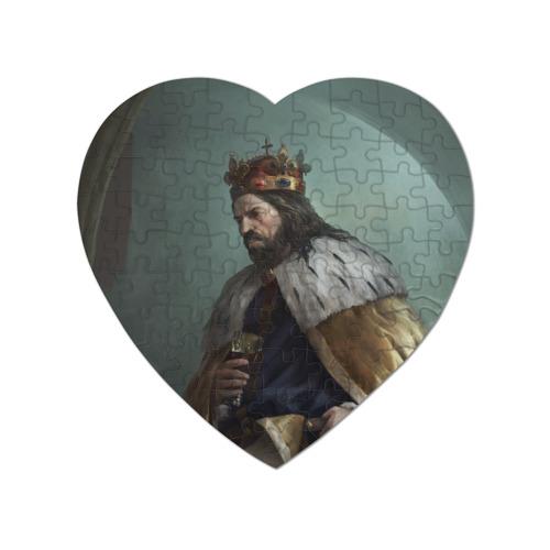 Пазл магнитный сердце 75 элементов Kingdom Come: Deliverance