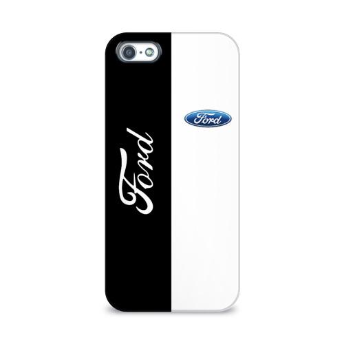 Чехол для Apple iPhone 5/5S 3D  Фото 01, Ford