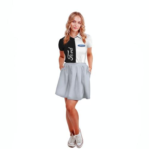 Женская рубашка поло 3D Ford Фото 01