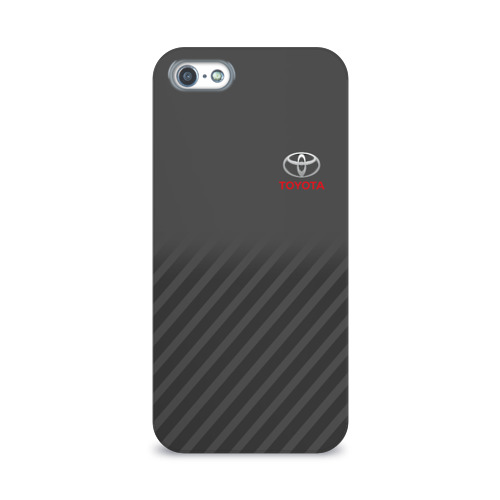 Чехол для Apple iPhone 5/5S 3D  Фото 01, TOYOTA SPORT
