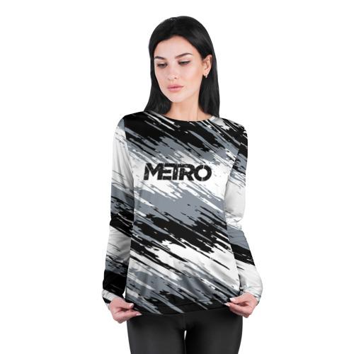 Женский лонгслив 3D для беременных METRO Фото 01