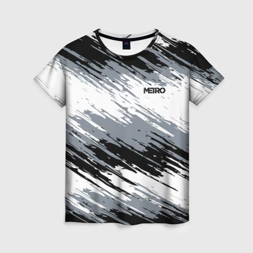 Женская футболка 3D METRO Фото 01