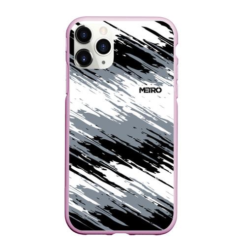 Чехол для iPhone 11 Pro матовый METRO Фото 01