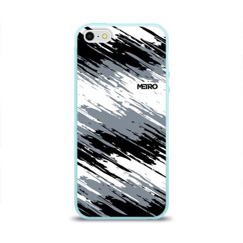Чехол для iPhone 5/5S глянцевый METRO Фото 01