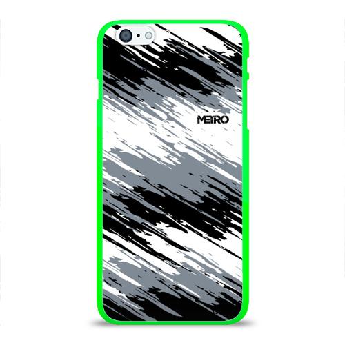 Чехол для iPhone 6Plus/6S Plus глянцевый METRO Фото 01